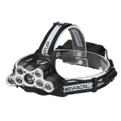 BESSKY 45000 LM 9X XM-L T6 LED Rechargeable Headlamp Headlight Travel Head Torch_ Black