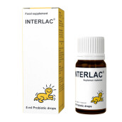 INTERLAC Probiotic Drops Food Supplement - 5ml