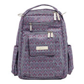 Jujube Be Right Back Amethyst Ice Diaper Backpack Deep Gray