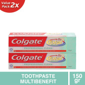 COLGATE Total Professional Clean Gel 2pcs x 150g