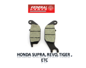 FEDERAL PARTS KAMPAS REM / PAD SET - HONDA SUPRA, REVO, TIGER , ETC (FP-06455-KEV-2700)