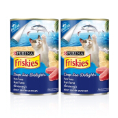FRISKIES Wet Pure Tuna Can 400g  x 2 PC