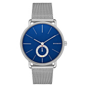 Skagen Hagen Blue Dial Stainless Steel Mesh Bracelet Ladies Watch [SKW6230]