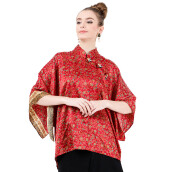 LUIRE Ponco Tangan Shanghai 10157BK - Red [All Size]