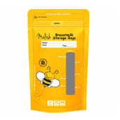 MALISH Breastmilk Storage Bags (Kantong Asi) 100 ml - Yellow