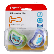 PIGEON Silicone Pacifier 2 Pcs Step 2