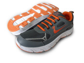 RECORD Aston Men Running Shoes Grey Orange