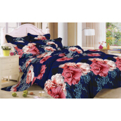 NYENYAK Melrose Fitted Sheet/Comforter - Blue