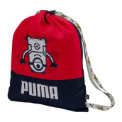 PUMA Minions Gym Sack - Peacoat-Flame Scarlet [One Size] 075043 01