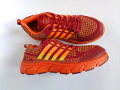 RECORD Arrow Men Running Shoes Maroon Orange
