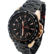 MIRAGE Watch Men 8305M Black Rg - Black Rosegold