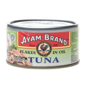 AYAM BRAND Tuna Flakes In Oil 185 gr