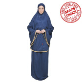 Mukena TATUIS Tiara 273 - Navy - Regular [One Size]