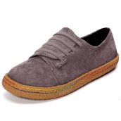 US Szie 5-11 Women Slip On Comfy Suede Flat Loafers