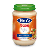 HERO BABY Import Premium Food Veal Carrots 200 gr