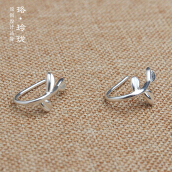 Luo Ling Long Silver tender earrings