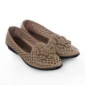 ANYOLORICH Ladies Flat Shoes SM 03 - Cream