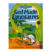 God Made Dinosours by  - Religion Book JTLB1004