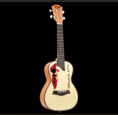 BWS EST&1988 23 Inch Ukulele Hawaiian Four Strings Guitar B-16 cream color