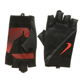 NIKE Mens Havoc Training Gloves  - Black/Anthracite/Total Crimson