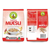 MUESLI Toasted Wheat Free 750g (Red)