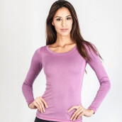 GRIPS Ladies Long Sleeves TEE SHIRTS - FUCSIA