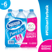 NESTLE Pure Life Mineral Water 600ml x 6pcs