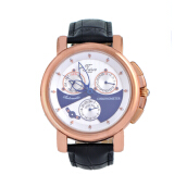 Teiwe Swiss TW2031-W Oceanus Black Leather Black