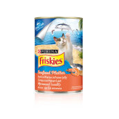FRISKIES Wet Seafood in Jelly Can 400g x2Pc