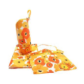 Okiedog Trio Accessory Bundle Flower Power - Orange Yellow [3 Pcs]