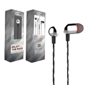 VIDVIE Earphone HS612 / Headset / Handsfree / Earbuds Grey