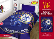 Selimut Vito Sutra Panel 150x200 Chelsea - Blue Blue