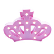 JYSK Decorative Lamp - Lampu Hias Crown Pink Pink