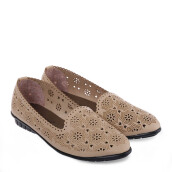 ANYOLORICH Ladies Flat Shoes SM 12 - Cream
