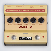 JOYO Guitar Single Effect AD-2 Golden