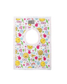 HEY! BABY Smileys Square Bib