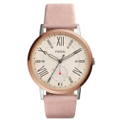 Fossil Gazer Multifunction Blush Leather Watch [ES4163]