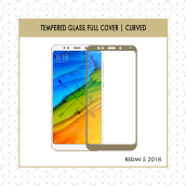 CASA Tempered Glass Warna / Color for Redmi 5 2018 [Full Cover]