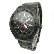 MIRAGE Watch Men 8186M All Black - Black