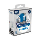 PHILIPS WHITE VISION H7 (4100K) - LAMPU HALOGEN