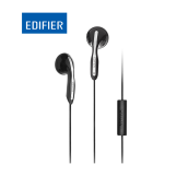 EDIFIER P180 Headphones with Mic and Inline Control - Stereo Earbud Earphone Earpod Headphone with Microphone and Remote