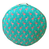 SLEEP MAX Floor Cushion - Flamingo Tosca / 65cm x 65 cm