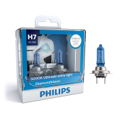 PHILIPS DIAMOND VISION H7 (5000K) - LAMPU HALOGEN