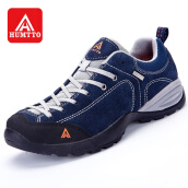 HUMTTO Men's Walking Shoes Trekking Shoes Casual Anti-fur Rubber Sneaker