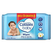 CUSSONS BABY Wipes Mild & Gentle 50'S + 30'S