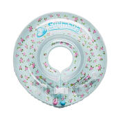 Swimava SWM210 French Flower G1 Starter Ring with Diaper Pelampung Anak - Cyan