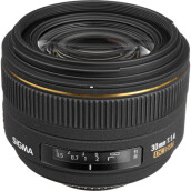 Sigma Lens 30mm F1.4 EX DC HSM for Nikon Black