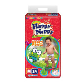 HAPPY NAPPY Popok Smart Pants - M 34