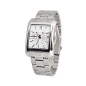 MIRAGE Watch Men 8551M DD Silver pP - White