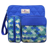 BABY SCOTS Tas Medium Perlengkapan Bayi Baby Family 2 - DIapers Bag BFT2201 BLUE